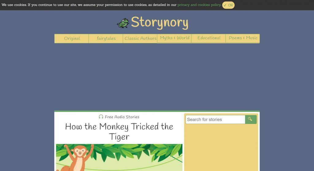 Storynory- best audioboookbay alternative