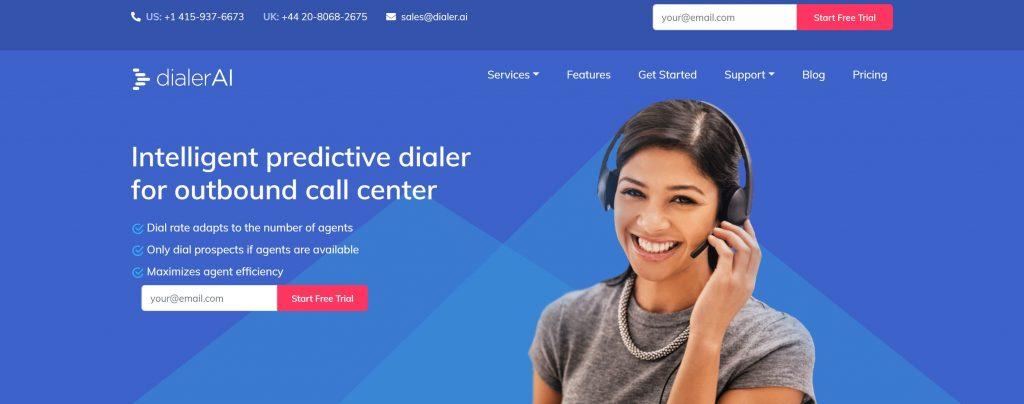 DialerAi- best predictive dialer software