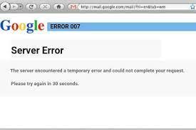 Gmail error 007 fixed background error
