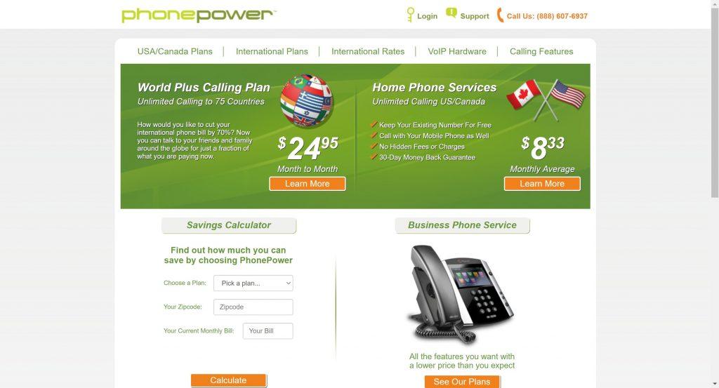 Best vonage alternatives- PhonePower VOIP service