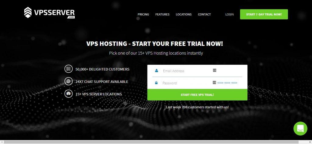 VPSServer Forex VPS hosting