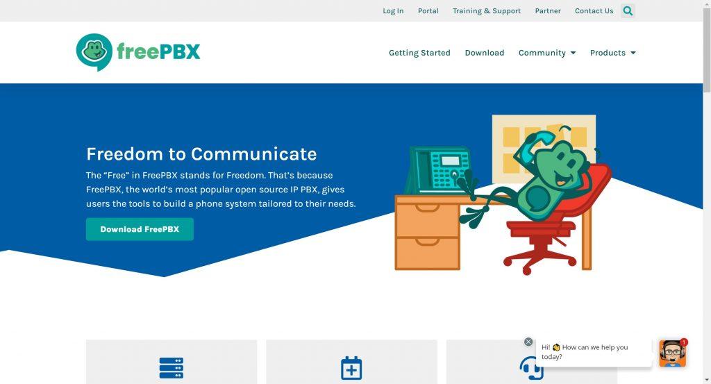 freePBX Software