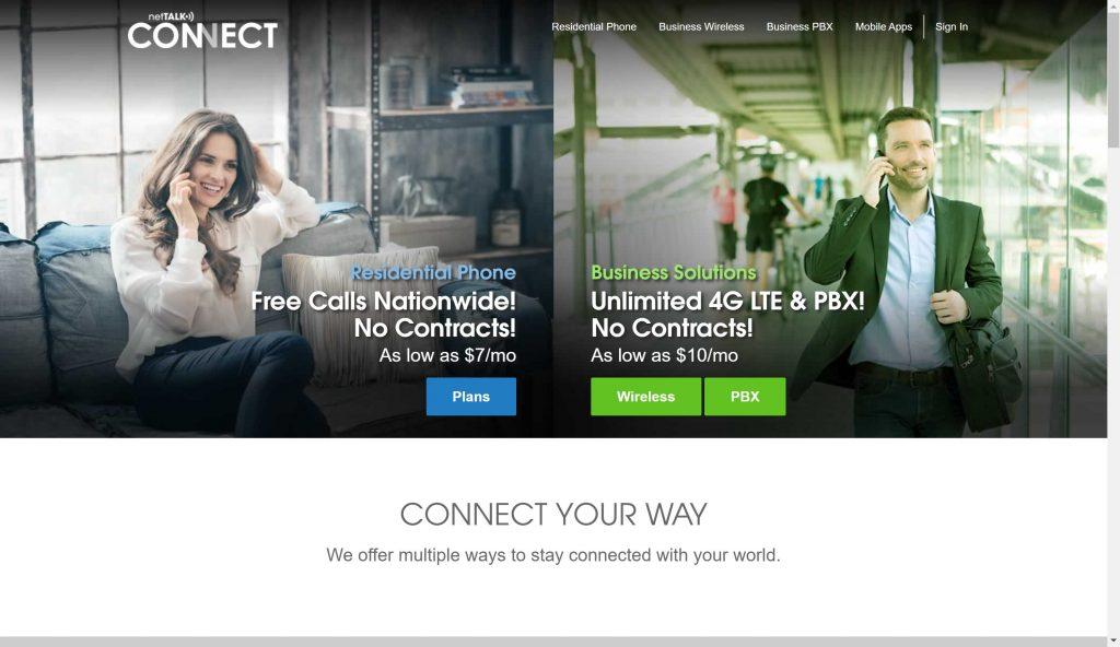 Best Vonage Alternatives- netTalk connect