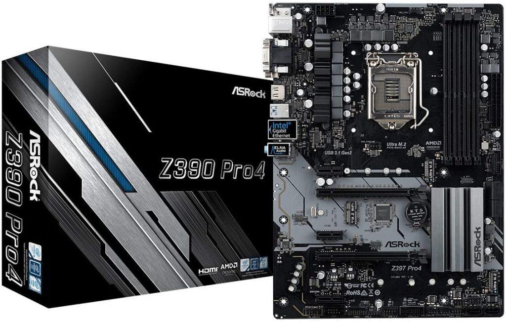 v=ASRock Z390 Motherboard- motherboards for i7-9700k