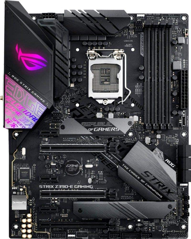 Asus ROGO Motherboard for i7-9700k