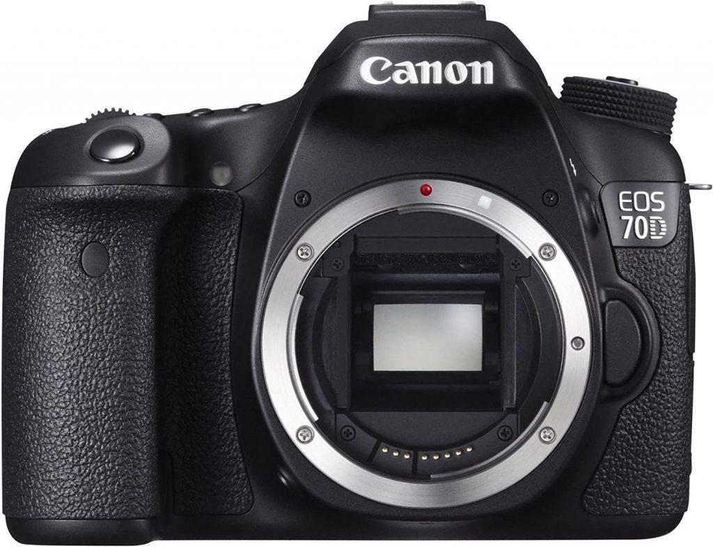 Canon EOS 70D- best canon flipping cameras
