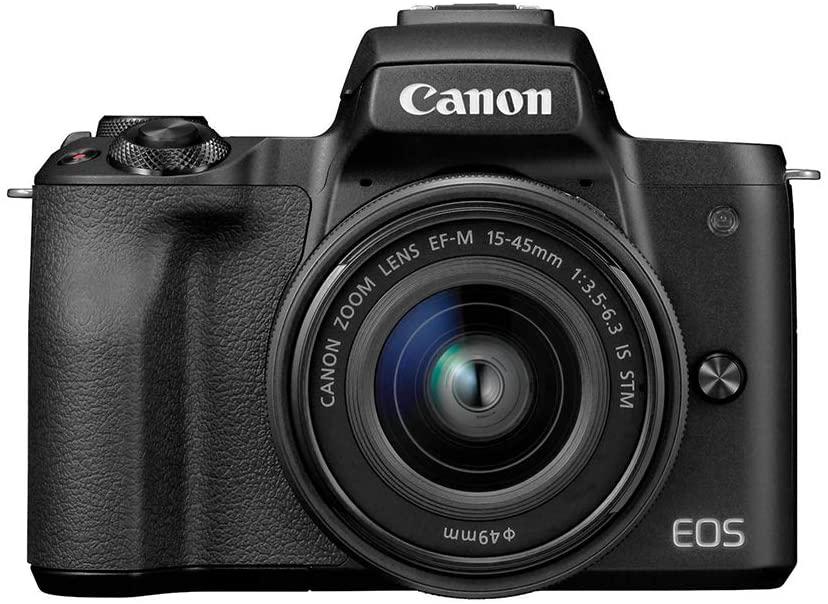 Canon EOS M50 flipping cameras