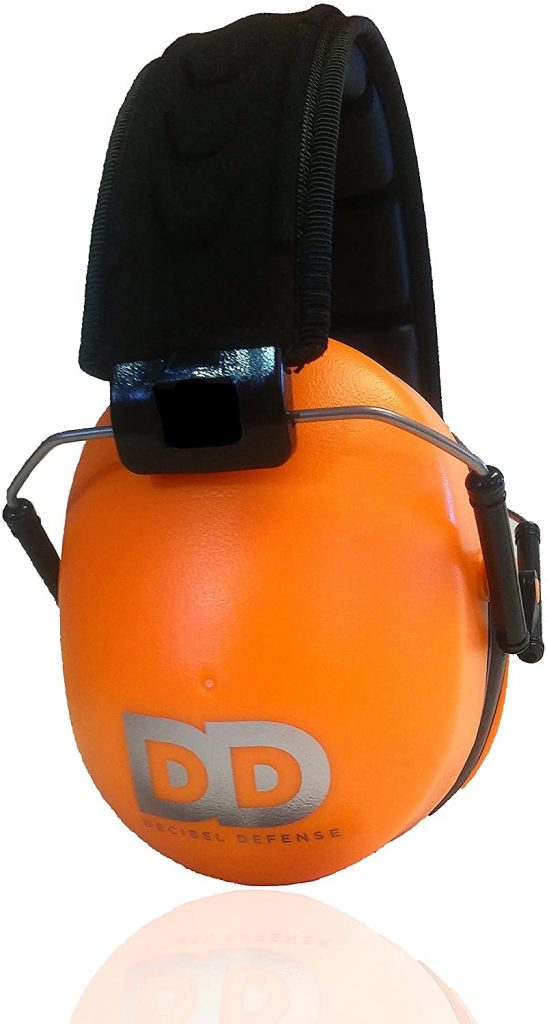 Decible Defence earmuffs for kids