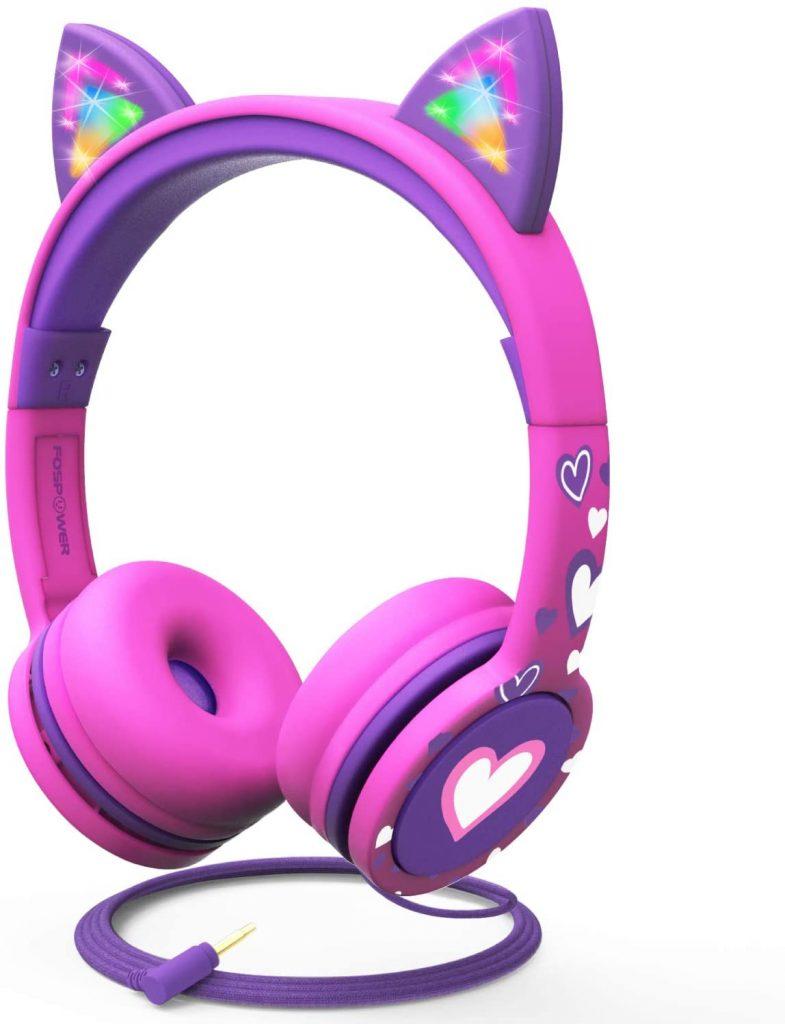 Fospower cat ear headbands for kids