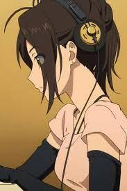 Fuji Asuka- anime girl with headphones