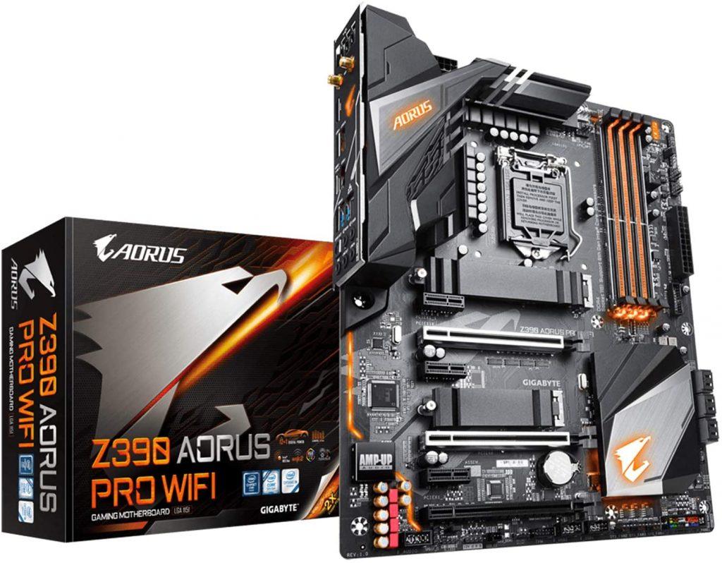 GIGABYTE Z390 Motherboard- best motherboard for i7-9700k