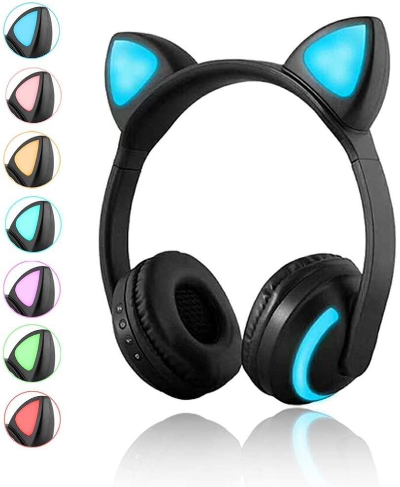 Luckyu Wireless cat headphones