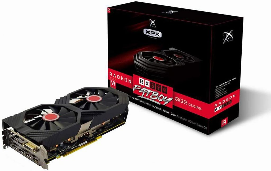XFX Radeon Rx 590 Fatboy- best graphics cards for VR