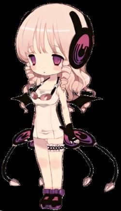 ayana sakagi girl with headphone