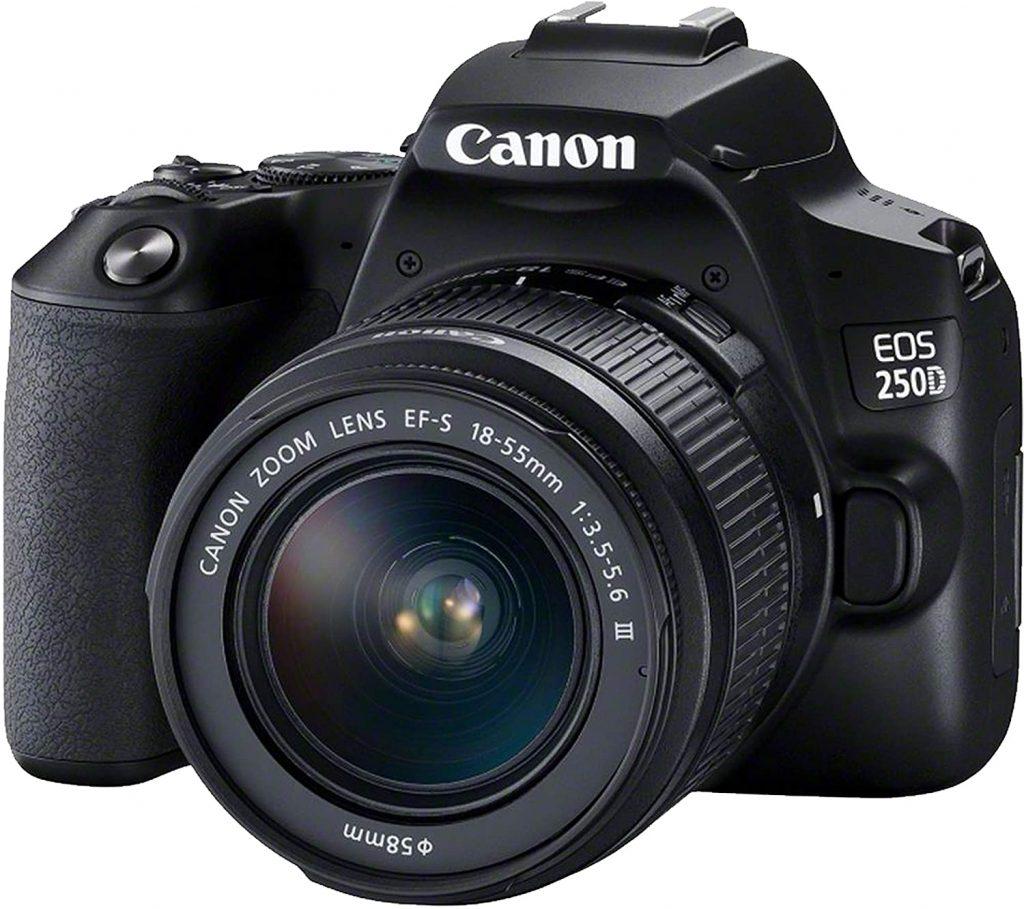 canon EOS 250D with flip screen
