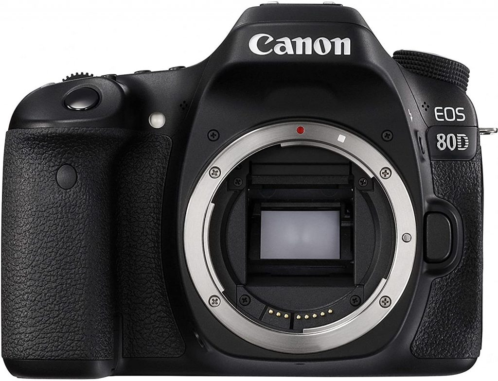 canon digital SLR flip screen camera