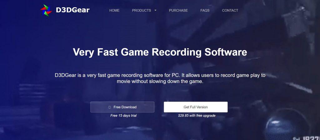 D3DGear streaming software