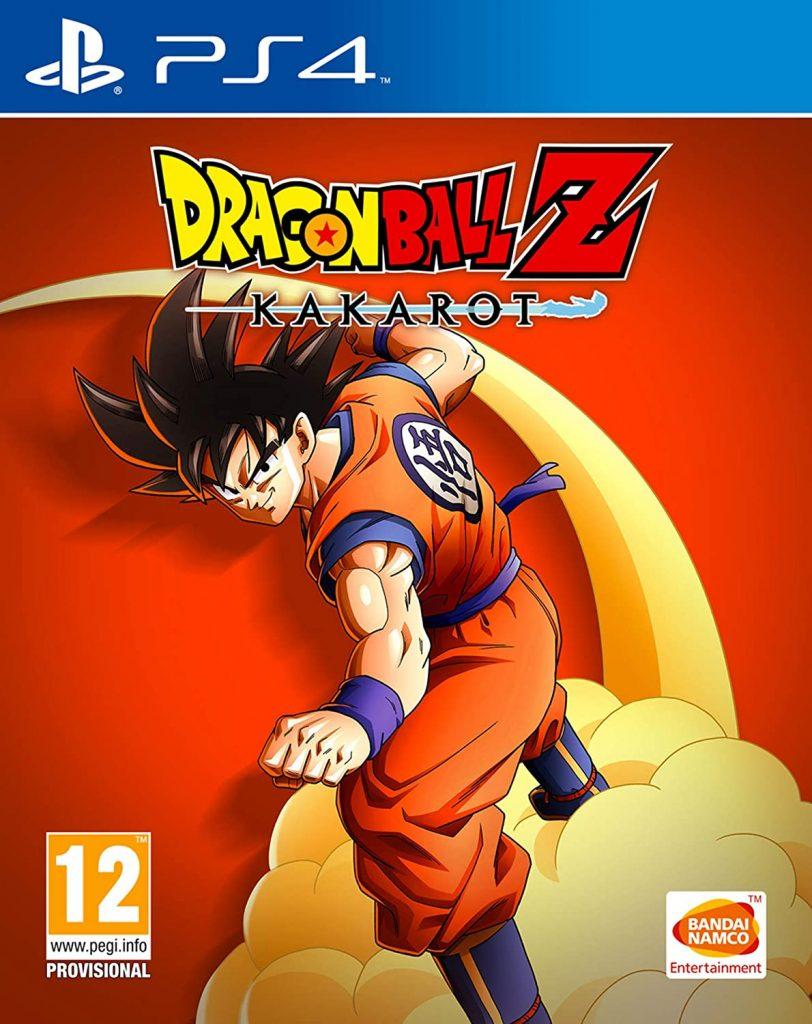 Dragon Ball Z Kakarot anime games for PS4