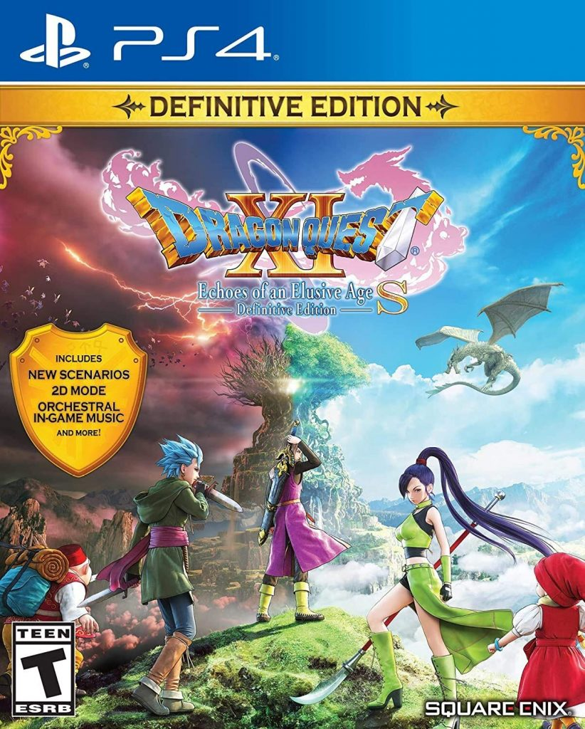 Dragon Quest XI S- anime games for PS4