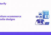 Furniture eCommerce Website Designs