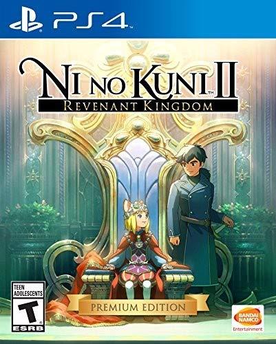 Ni No Kuni II Revenant Kingdom anime game for PS4