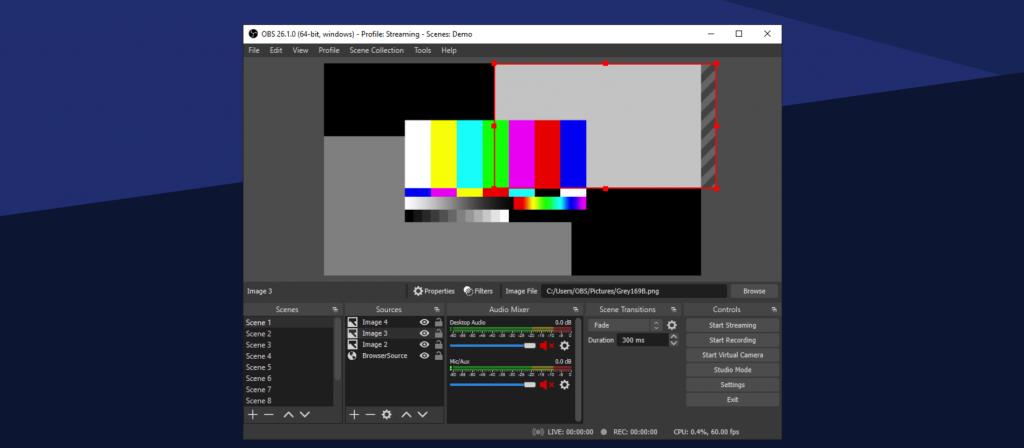 OBSStudio live streaming software