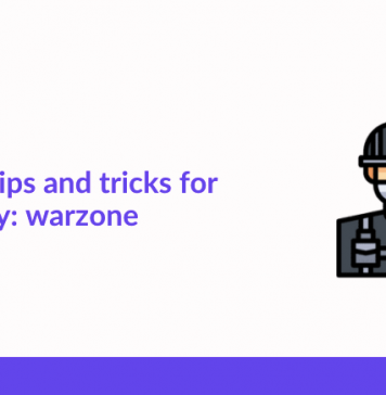 Beginner Tips And Tricks For Call of Duty- Warzone