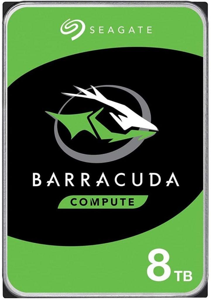 Seagate BarrCuda Hard drive for gaming