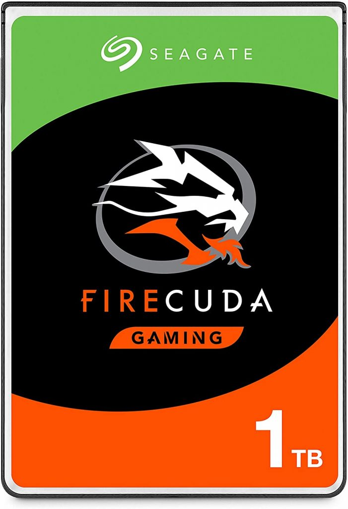 Seagate FireCuda Gaming SSHD 2.5 best hard drive for gaming