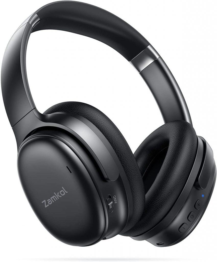 Zamkol headphones bluetootg